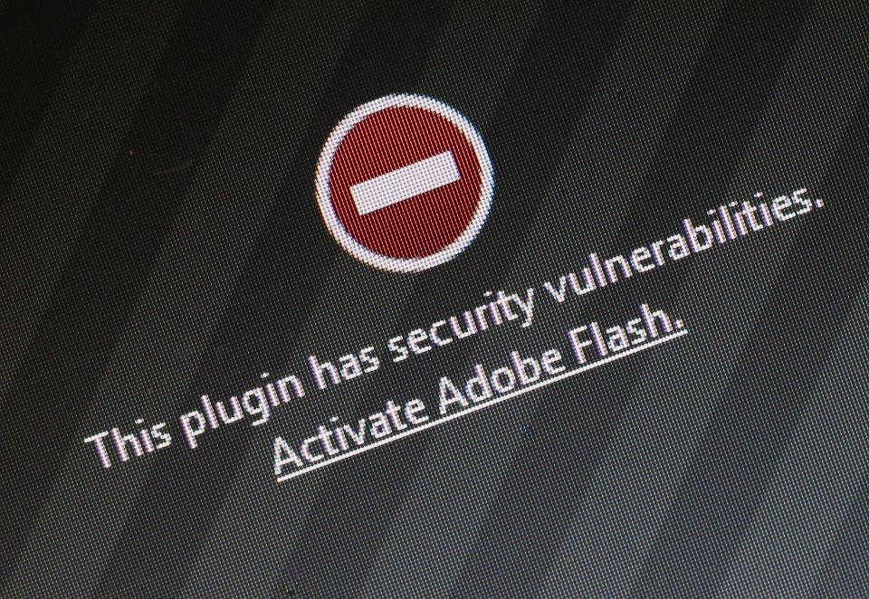 "Adobe Flash""众望所归""地死了"